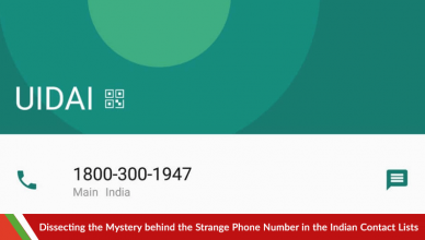 Dissecting the Mystery behind the Strange Phone Number in the Indian Contact Lists