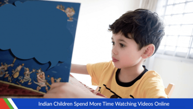 Indian Children Spend More Time Watching Videos Online