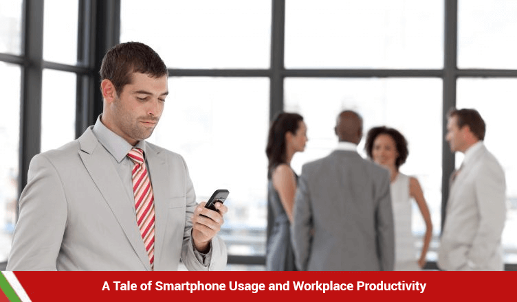 A Tale of Smartphone Usage and Workplace Productivity