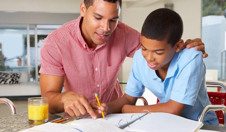 bigstock-Father-Helping-Son-With-Homework