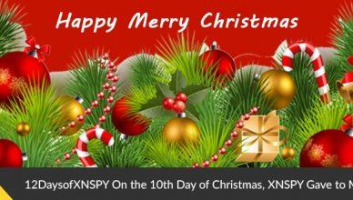 Xnspy Christmans 10th day