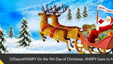 Xnspy Christmans 9th day