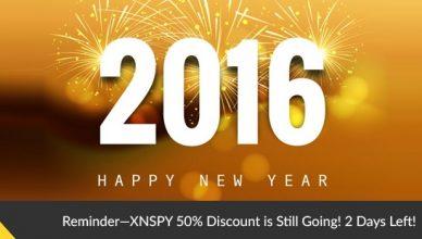 XNSPY Discount 2016