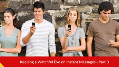 Instant messages spying