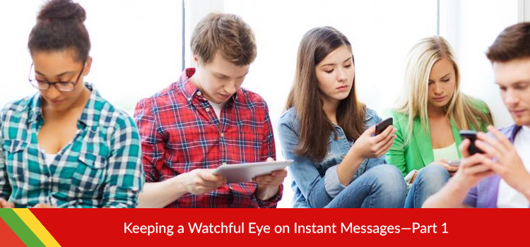 Instant Messages Monitoring App