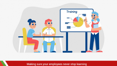 Employees should not stop learning