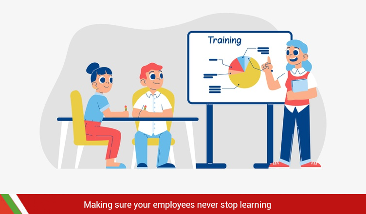 Making Sure Your Employees Never Stop Learning