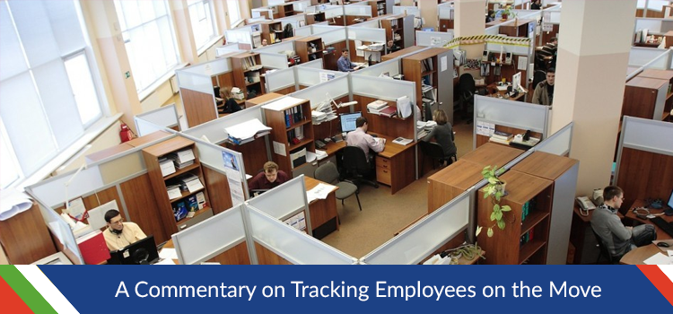 A Commentary on Tracking Employees on the Move