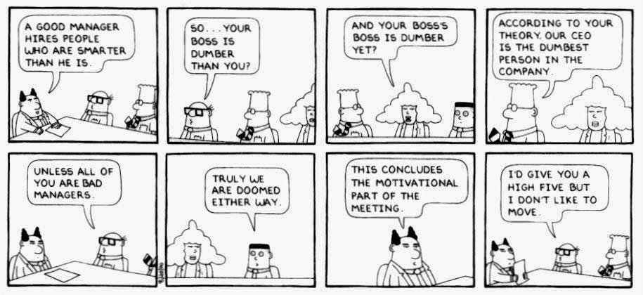 Employee Management cartoon