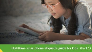 Nighttime Smartphone Etiquette Guide for Kids pt1