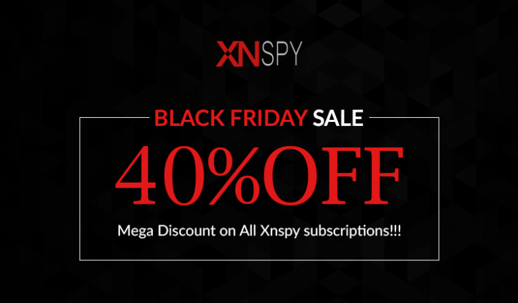Xnspy's Black Friday 2017 Deal – 40% Mega Discount on All