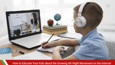 Educating the kids about alt-right moment