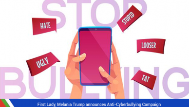 Melania Trump announces Anti-Cyberbullying Campaign