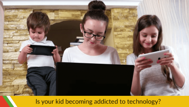IS YOUR KID BECOMING ADDICTED TO TECHNOLOGY