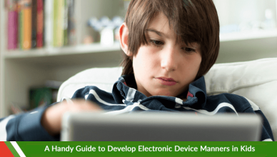 A Handy Guide to Develop Electronic Device Manners in Kids