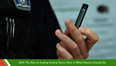 With The Rise of Juuling Among Teens, Here Is What Parents Should Do