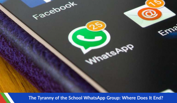 The Tyranny of the School WhatsApp Group: Where Does It End?