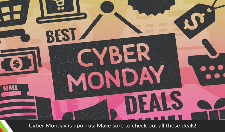 Cyber Monday is upon us: Make sure to check out all these deals!