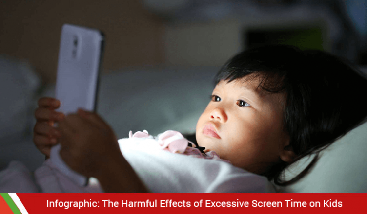 The Harmful Effects of Excessive Screen Time on Kids