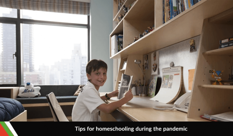 Tips for homeschooling during the pandemic