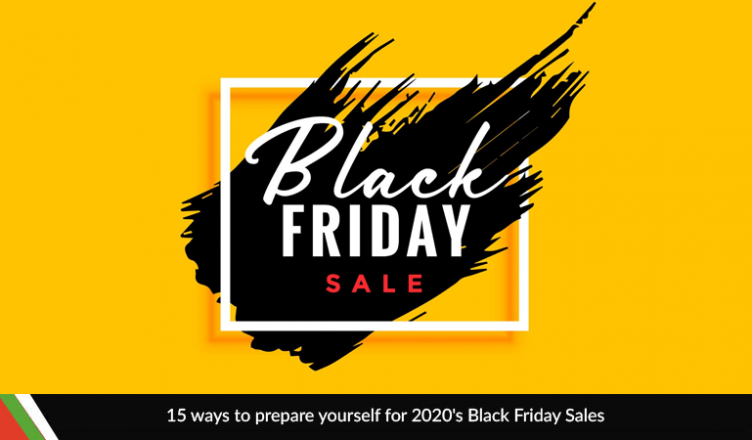 15 ways to prepare yourself for 2020's Black Friday Sales