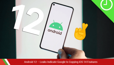 Android 12 news leaks