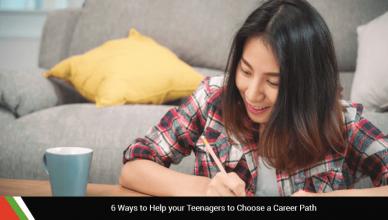 Teenagers to Choose a Career Path