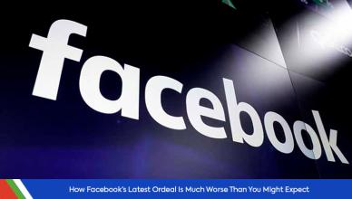 Facebook recent ordeal