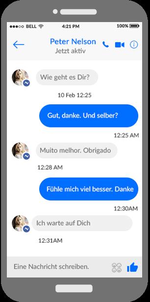 Facebook-Chat-Überwachung