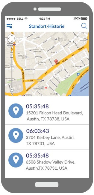 Location History Monitoring