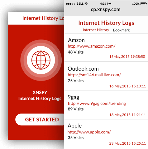 how to delete internet browsing history on android