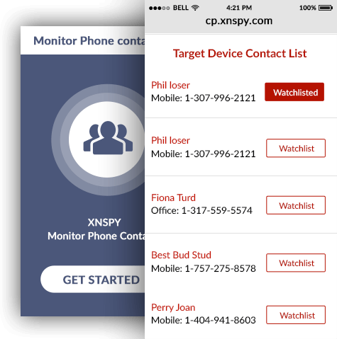 Monitor Phone Contacts