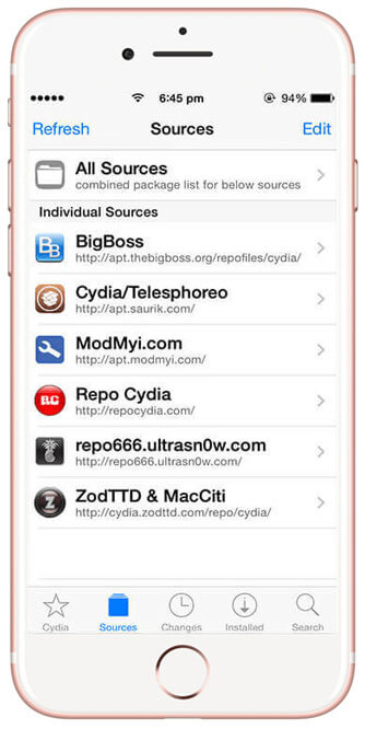 Step #1 – Add a new Cydia Source