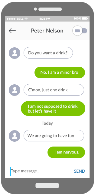 kik messenger parental control