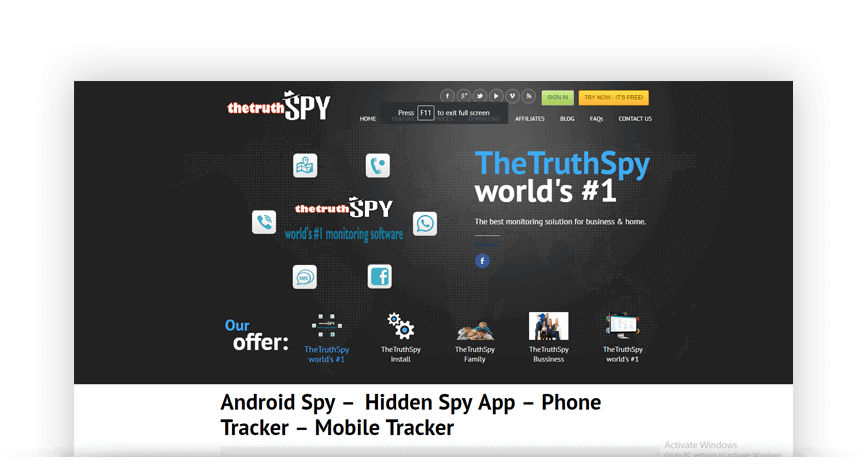 Top 5 List of the Best Spy Apps