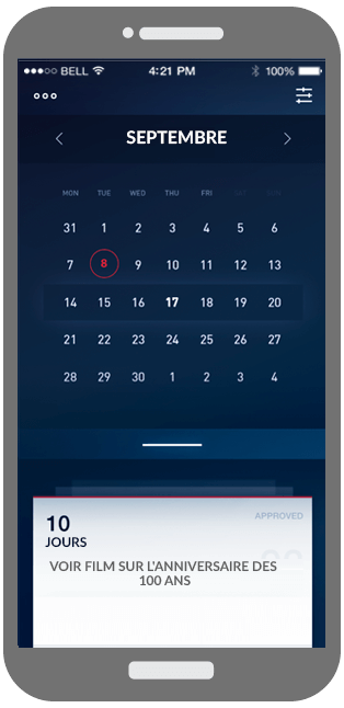 Calendar Entries Monitoring