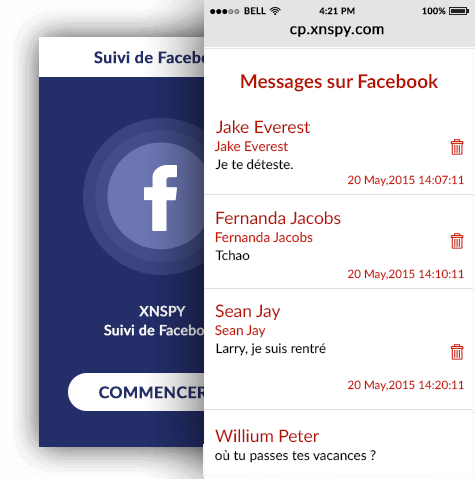 Facebook Messenger Spy App